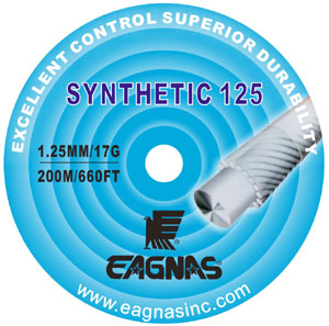Eagnas Synthetic 125 tennis string