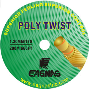 Eagnas Poly Twist 16 Tennis string